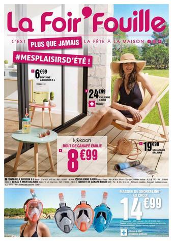 La Foir'Fouille catalogue publicitaire (valable jusqu'au 05-07)