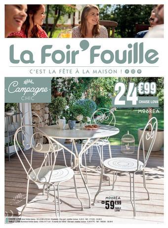 La Foir'Fouille catalogue publicitaire (valable jusqu'au 12-07)