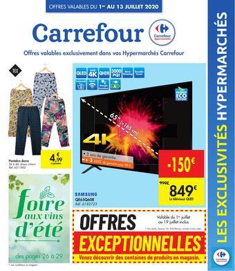 Carrefour reclame folder (geldig t/m 13-07)