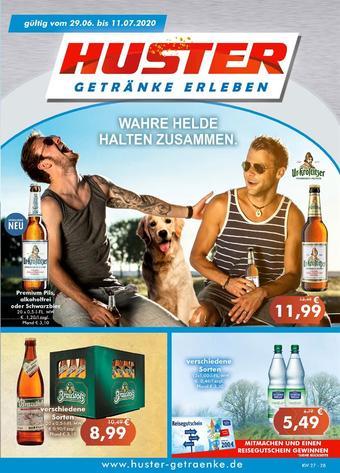 Getränke Huster Prospekt (bis einschl. 11-07)