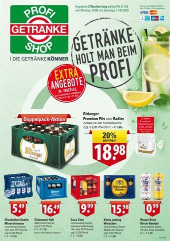 Profi Getränke Prospekt (bis einschl. 11-07)