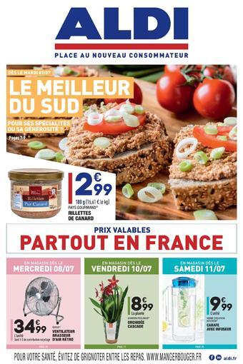ALDI catalogue publicitaire (valable jusqu'au 13-07)