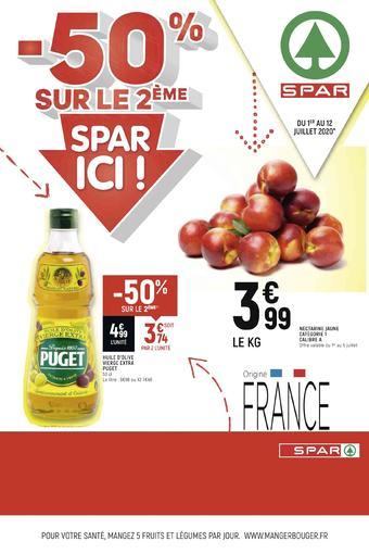 Spar catalogue publicitaire (valable jusqu'au 12-07)