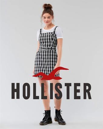 Hollister catalogue publicitaire (valable jusqu'au 31-08)