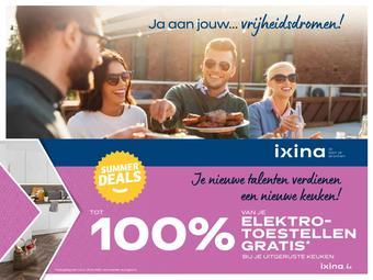Ixina reclame folder (geldig t/m 31-07)