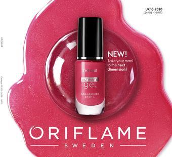 Oriflame catalogue publicitaire (valable jusqu'au 16-07)