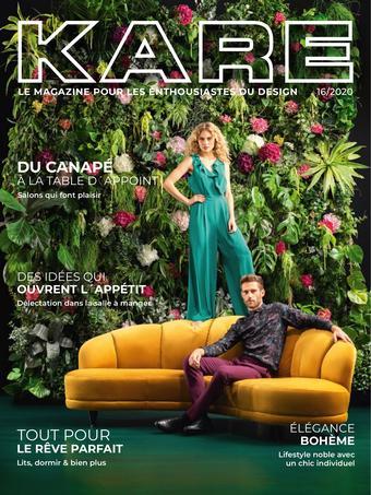 KARE catalogue publicitaire (valable jusqu'au 31-07)