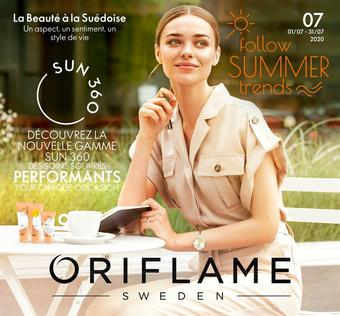 Oriflame catalogue publicitaire (valable jusqu'au 31-07)