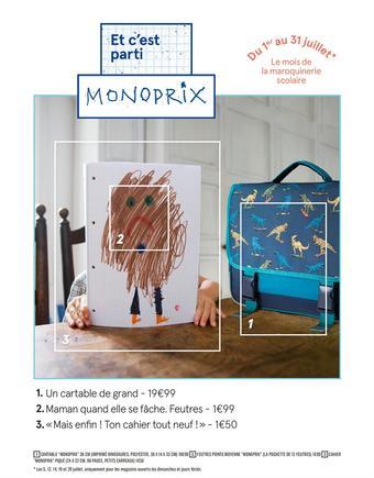 Monop' Beauty catalogue publicitaire (valable jusqu'au 31-07)