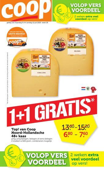 Coop Vandaag reclame folder (geldig t/m 12-07)