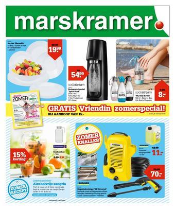 Marskramer reclame folder (geldig t/m 15-07)