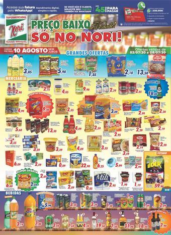 Supermercados Nori catálogo promocional (válido de 10 até 17 08-07)