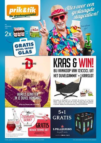Prik en Tik reclame folder (geldig t/m 12-07)