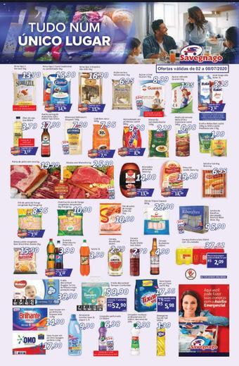 Supermercados Savegnago catálogo promocional (válido de 10 até 17 08-07)