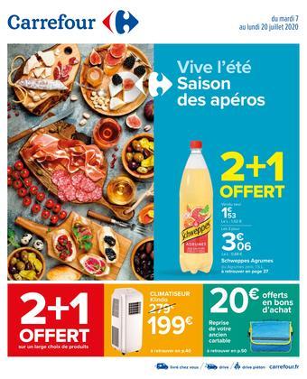 Carrefour catalogue publicitaire (valable jusqu'au 20-07)