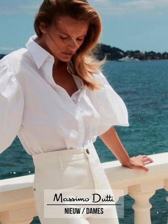 Massimo Dutti reclame folder (geldig t/m 26-08)