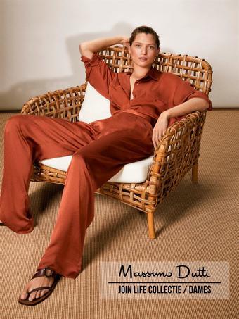 Massimo Dutti reclame folder (geldig t/m 03-08)