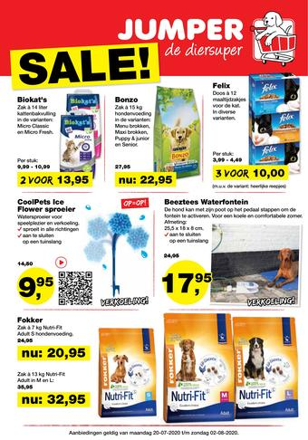 Jumper reclame folder (geldig t/m 02-08)