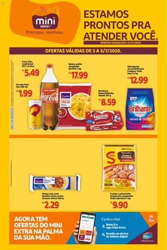 Extra Supermercado catálogo promocional (válido de 10 até 17 07-07)
