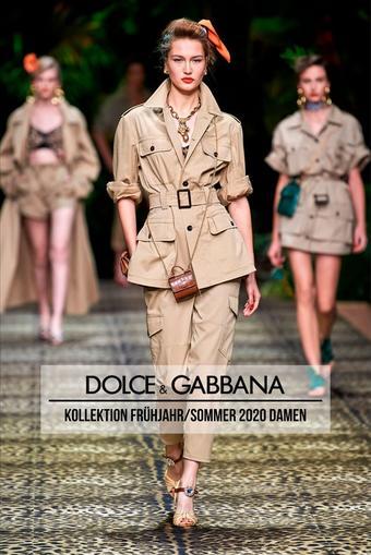 Dolce & Gabbana Prospekt (bis einschl. 03-09)