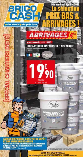 Brico Cash catalogue publicitaire (valable jusqu'au 23-07)