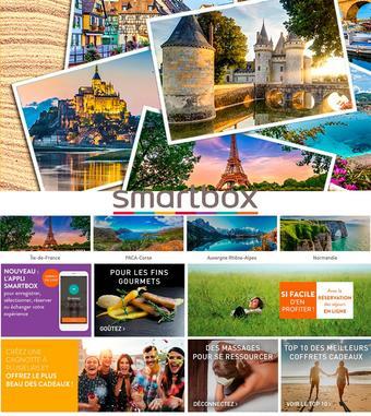 Smartbox catalogue publicitaire (valable jusqu'au 03-08)