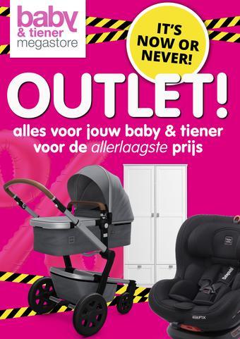 Baby & Tiener reclame folder (geldig t/m 11-07)