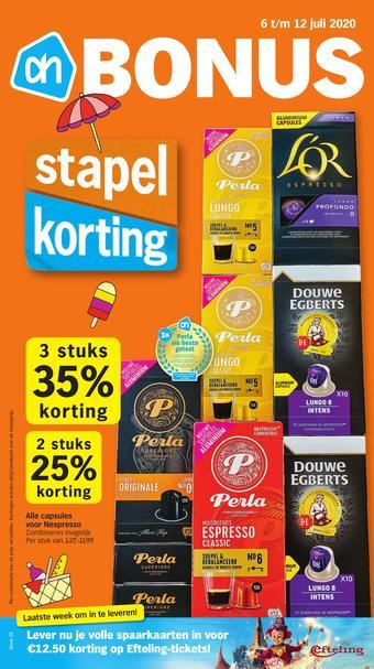 Albert Heijn reclame folder (geldig t/m 12-07)