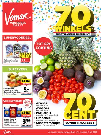 Vomar reclame folder (geldig t/m 11-07)