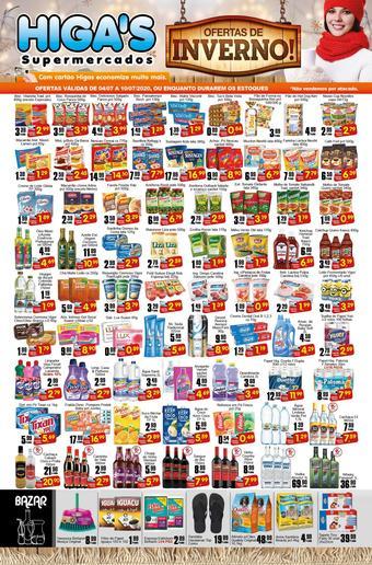 Higa's Supermercado catálogo promocional (válido de 10 até 17 10-07)