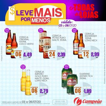 Campeão Supermercados catálogo promocional (válido de 10 até 17 06-07)
