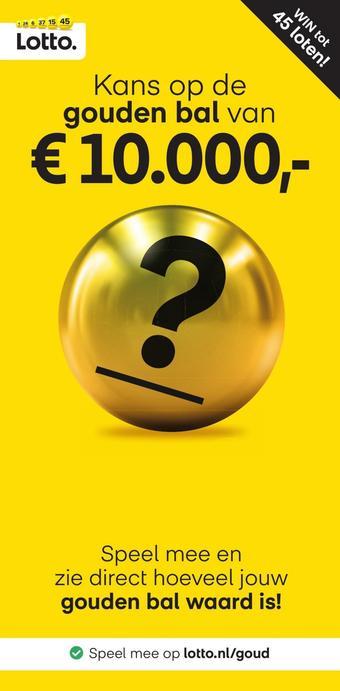 Lotto reclame folder (geldig t/m 12-07)