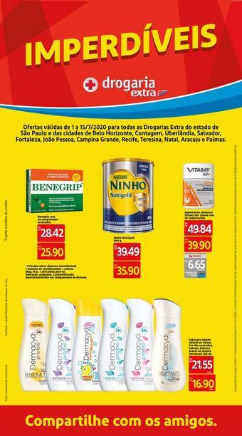 Drogaria Extra catálogo promocional (válido de 10 até 17 15-07)