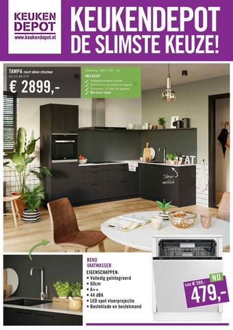 Keukendepot reclame folder (geldig t/m 12-07)