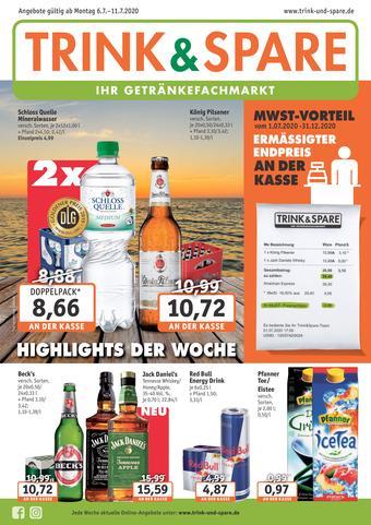 Trink und Spare Prospekt (bis einschl. 11-07)