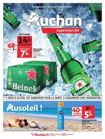 Auchan catalogue publicitaire (valable jusqu'au 07-07)