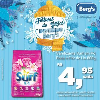 Berg's Supermercados catálogo promocional (válido de 10 até 17 20-07)