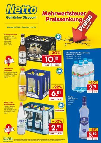 Netto Getränke Discount Prospekt (bis einschl. 11-07)