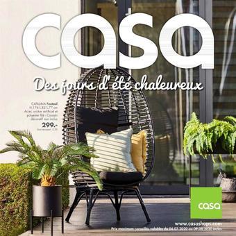 Casa catalogue publicitaire (valable jusqu'au 09-08)