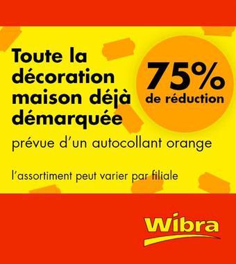 Wibra reclame folder (geldig t/m 31-07)