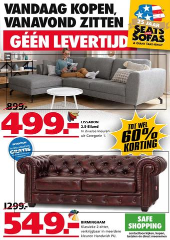 Seats and Sofas reclame folder (geldig t/m 12-07)