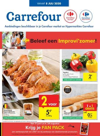 Carrefour Market reclame folder (geldig t/m 13-07)