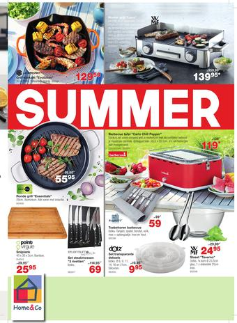 Home & Co reclame folder (geldig t/m 30-08)