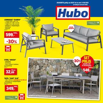 Hubo reclame folder (geldig t/m 31-08)
