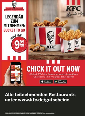 KFC Prospekt (bis einschl. 30-08)