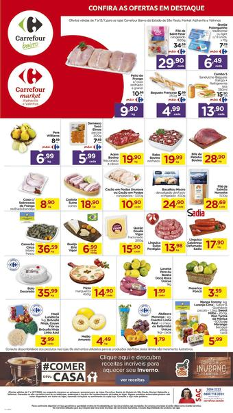 Carrefour Bairro catálogo promocional (válido de 10 até 17 13-07)