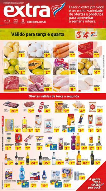 Extra Supermercado catálogo promocional (válido de 10 até 17 13-07)
