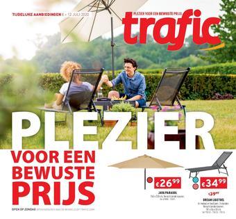 Trafic reclame folder (geldig t/m 12-07)