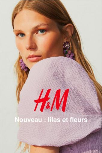 H&M reclame folder (geldig t/m 30-08)