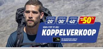 Intersport reclame folder (geldig t/m 31-07)